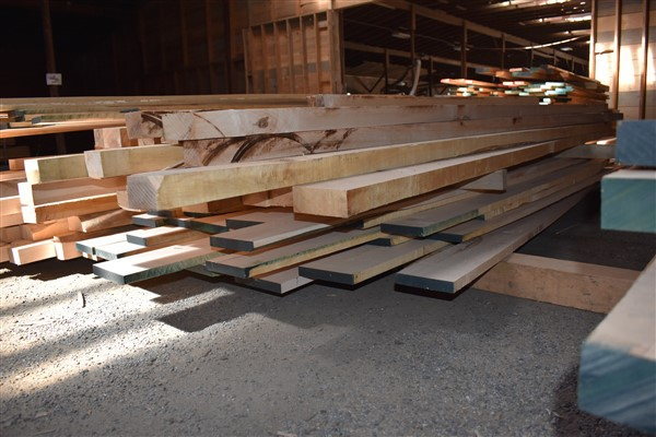 Lot 81 - 4/4 Maple- Planed 2 Sides