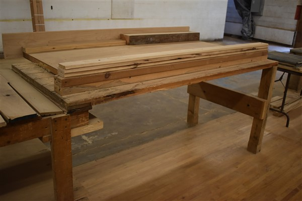 Lot 318 - Various Work Tables