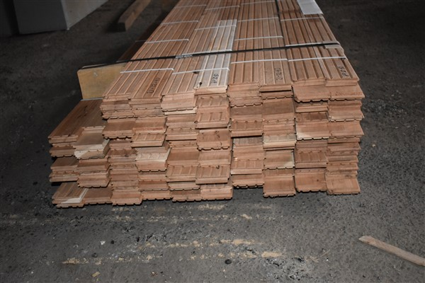 """Lot 116 - Cherry 3 1/4"""" Unfinished Flooring"""