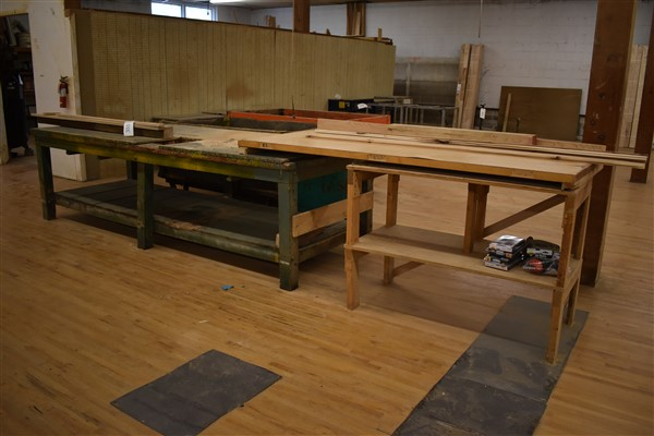 Lot 333 - Work Tables