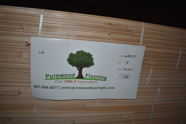 "Lot 135 - Maple 4"" Unfinished Flooring"