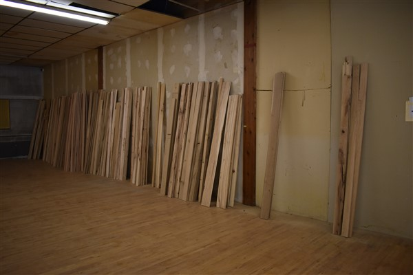 Lot 341 - Large Assortment of Oak