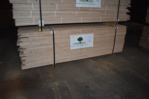 "Lot 136 - Maple 4"" Unfinished Flooring"
