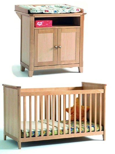 Vienna Solid Wood Nursery Furniture Set Thenurseries