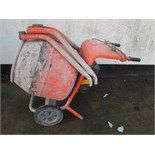 BELLE MINIMIX 150 ELECTRIC CEMENT MIXER (SWITCH NEEDS ATTENTION)