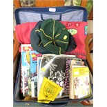 OF SCOUTS AND BROWNIES INTEREST - BOOKS, CLOTHING AND ANNUALS (CONTENTS OF SUITCASE)
