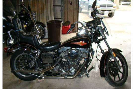 1984 Harley Davidson FXSB Low Rider Shovel Head motorcycle
