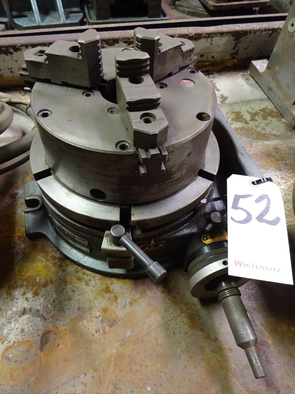 Lot 52 - P.Y.H. Model THV-10 Horiz. & Vert. Rotary Table