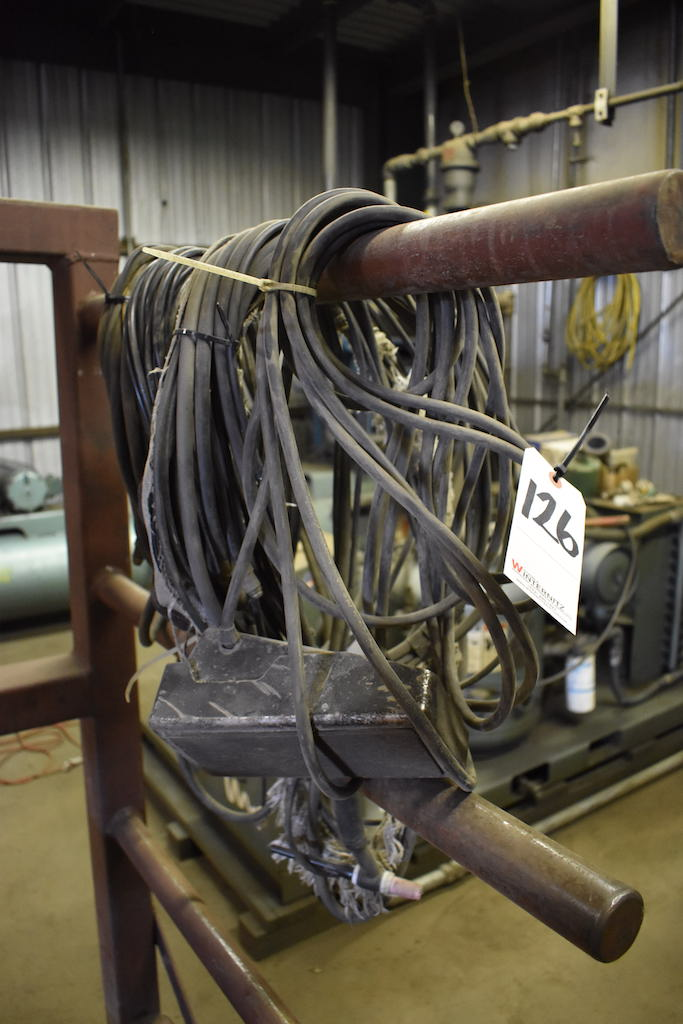 Lot 126 - LOT: Assorted Welding Cable