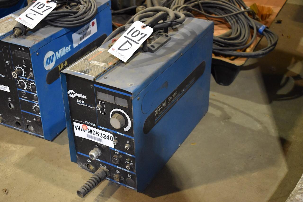 Lot 107D - Miller Model XR-M 24V Push/Pull Feeder