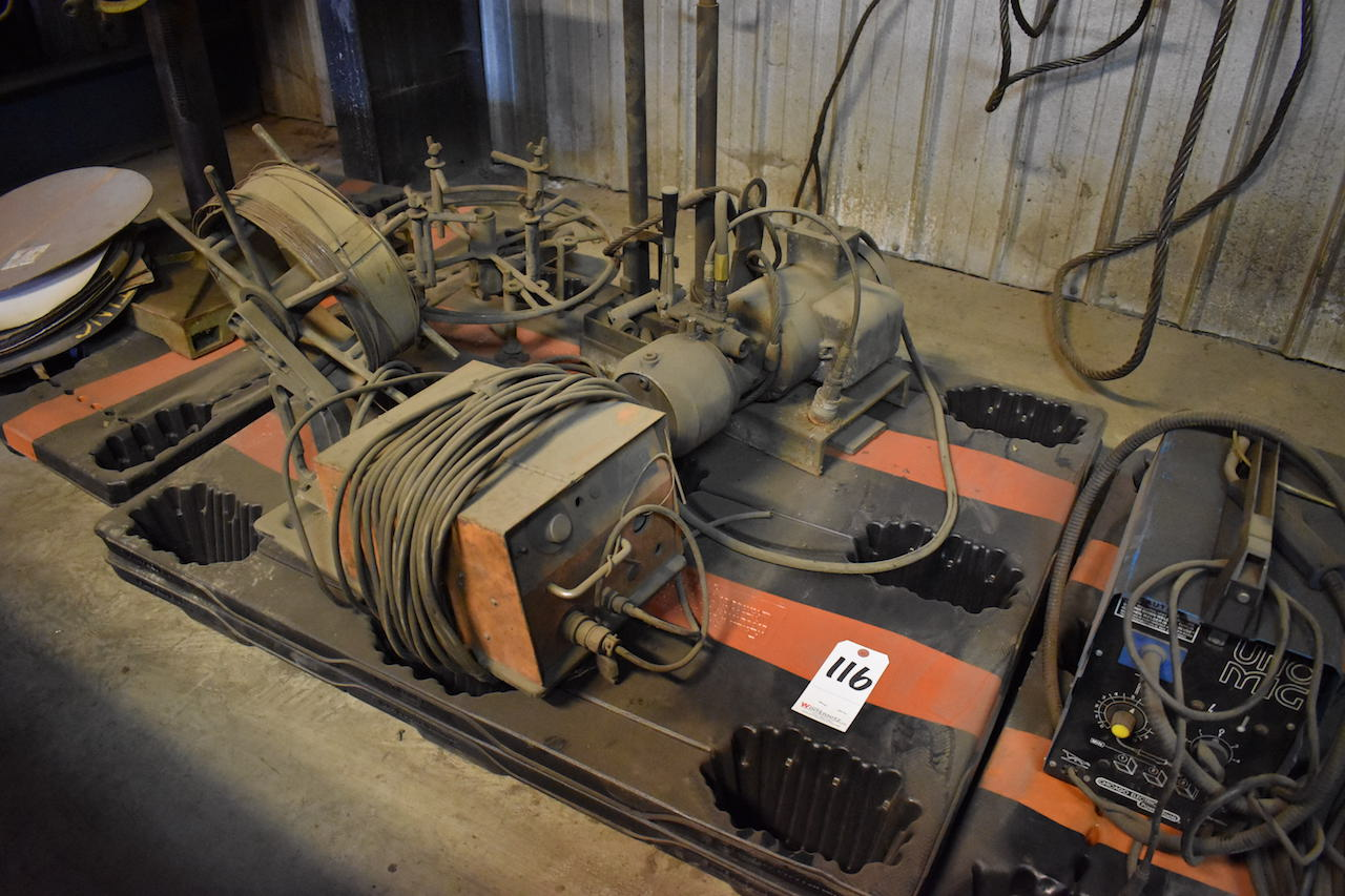 Lot 116 - Airco Wire Feeder