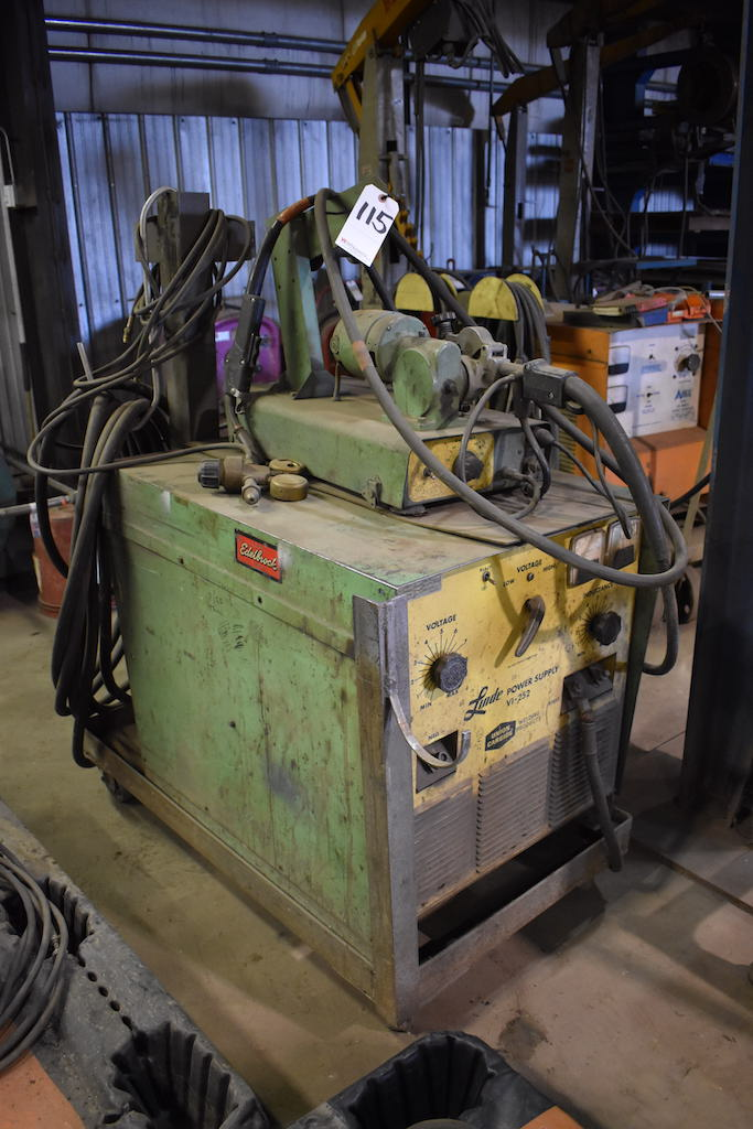 Lot 115 - Linde Model VI-252 Welding Power Supply