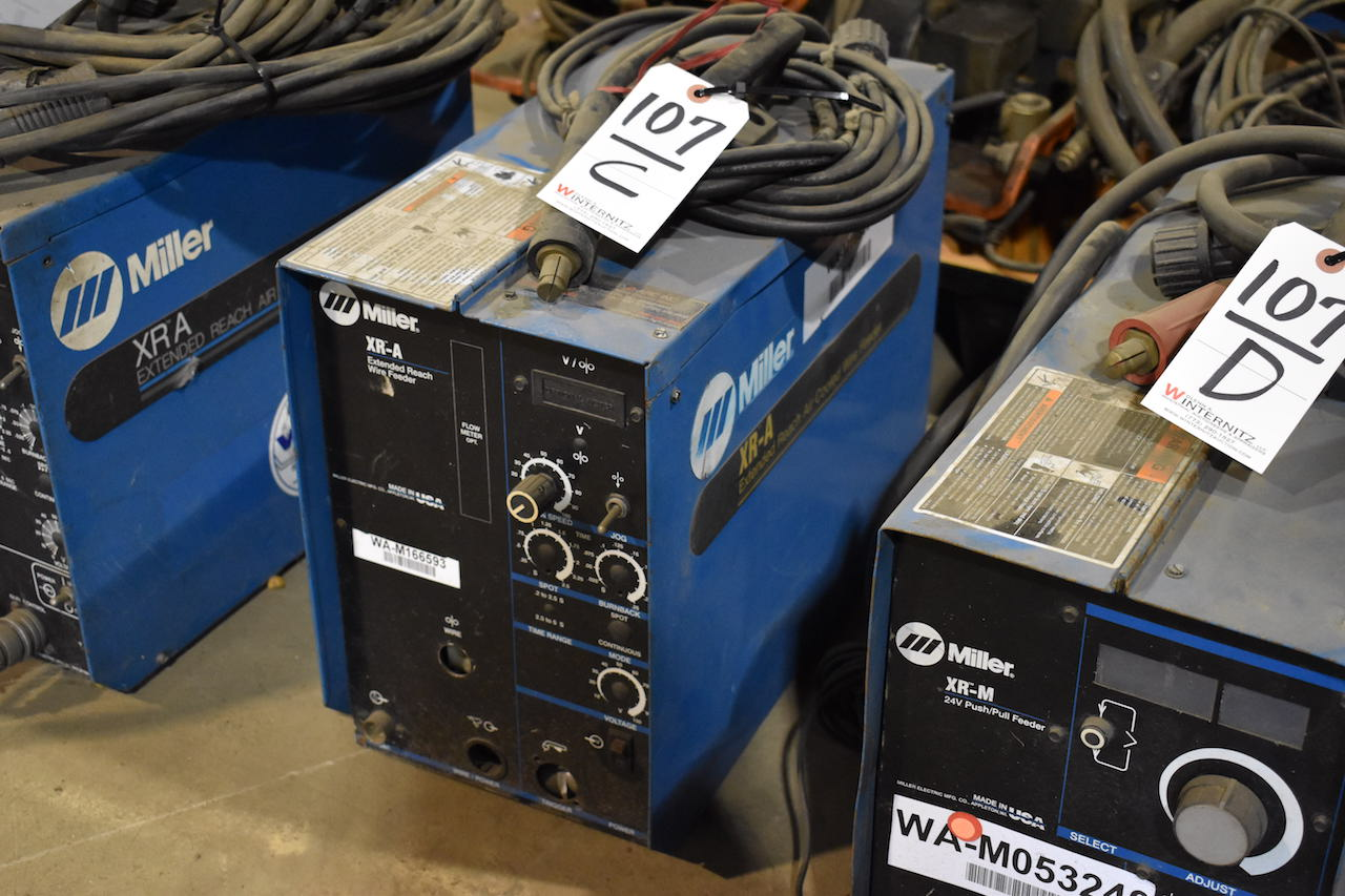 Lot 107C - Miller Model XR-A Extended Reach Wire Feeder