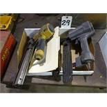 LOT: Devilbiss & Stanley Bostitch Pneumatic Staple Guns