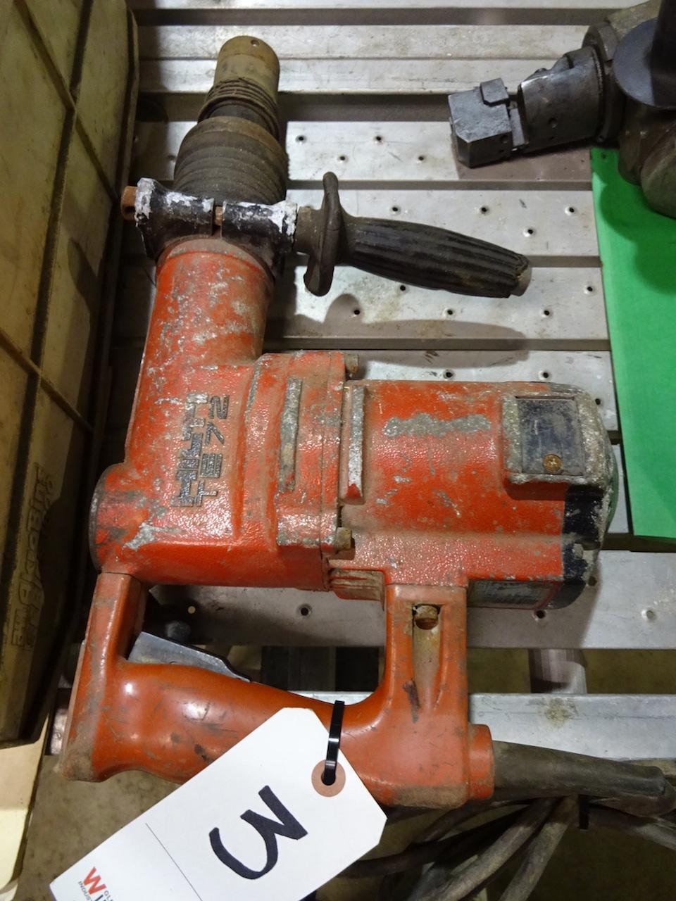 Lot 3 - Hilti Model TE72 Rotary Hammer Drill