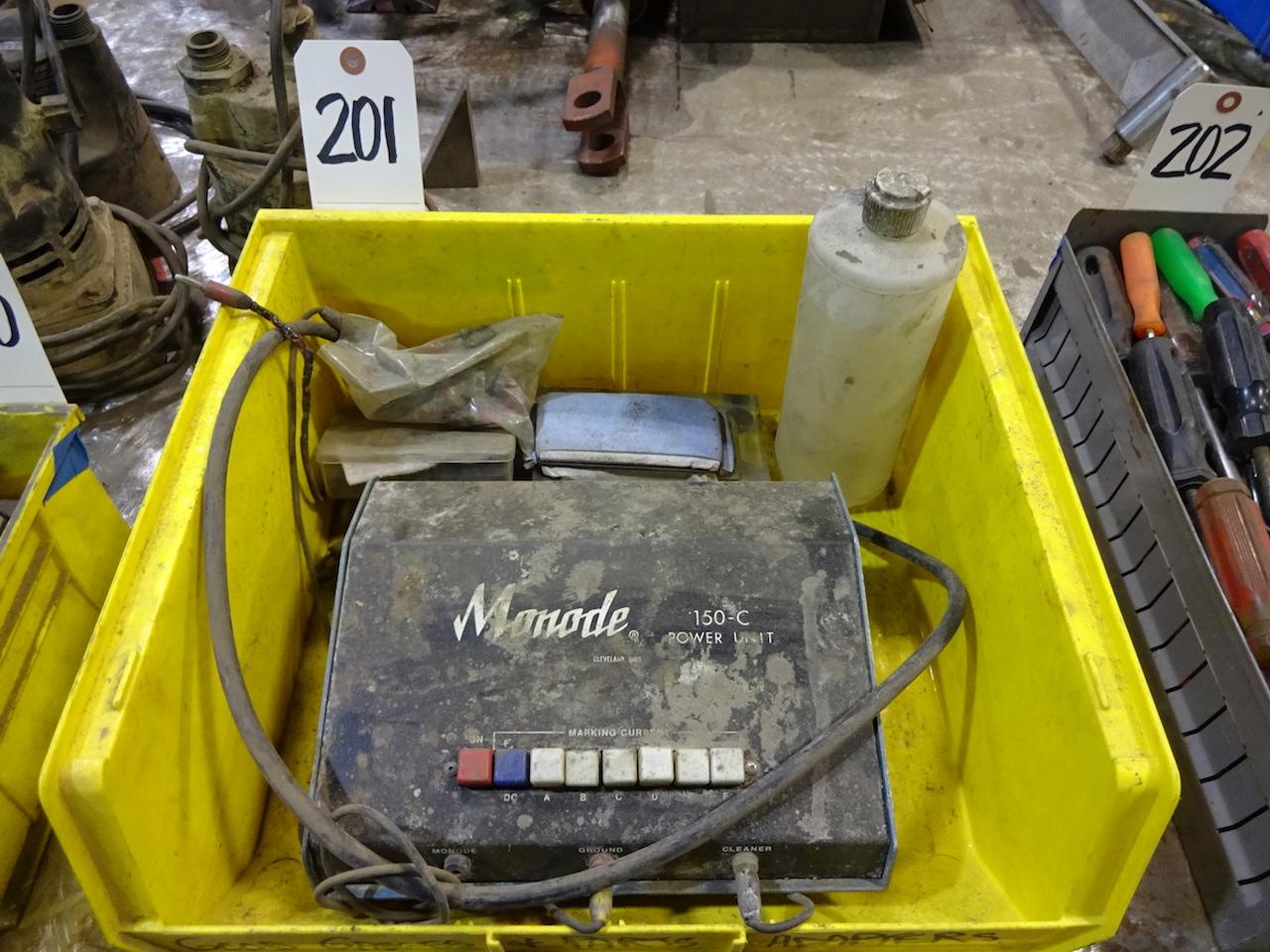 Lot 201 - Monode Model 150-C Power Unit; For Weld Bluing Removal