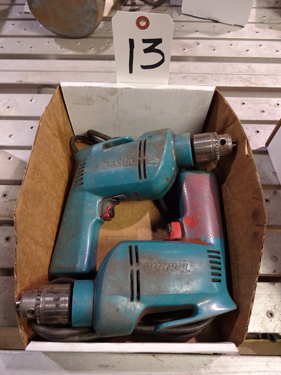 Lot 13 - LOT: (2) Makita Electric Drills