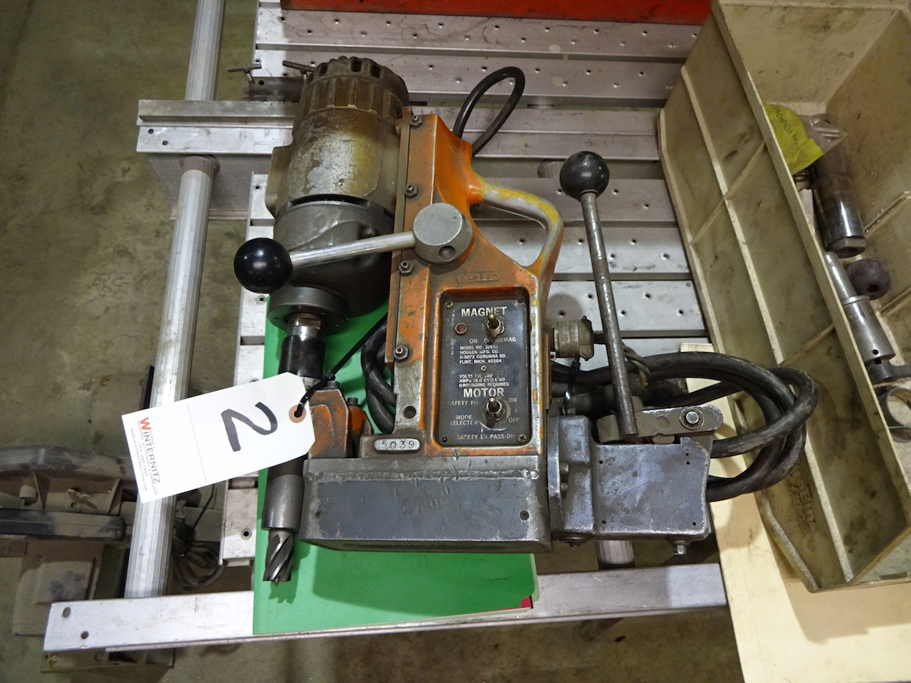 Lot 2 - Hougen Magnetic Base Drill