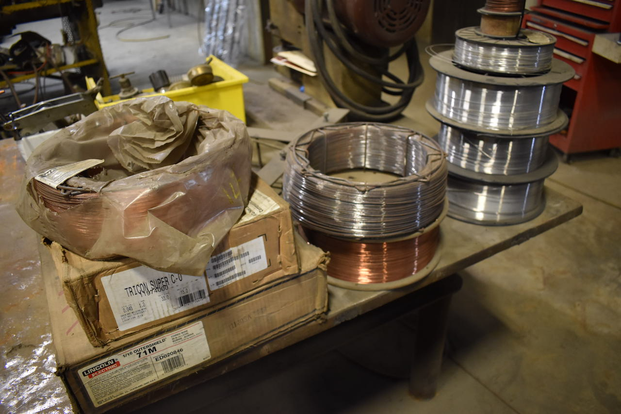 Lot 246 - LOT: Assorted Welding Wire