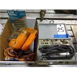 LOT: Black & Decker Electric Jig Saw & Dremel Model 270 Hand Grinder