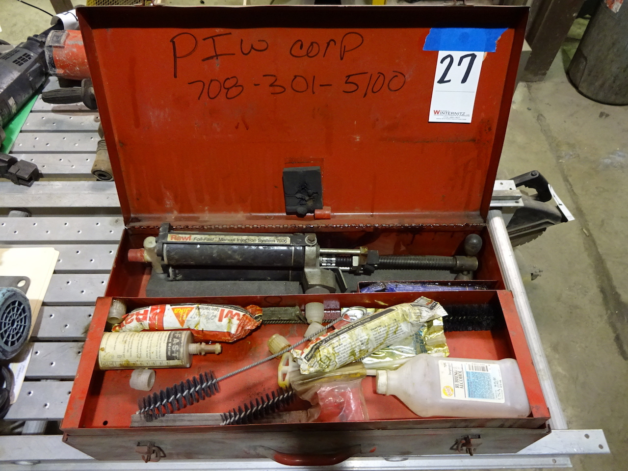 Lot 27 - Epoxy Anchoring System