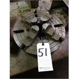 12 in. 4-Jaw Chuck