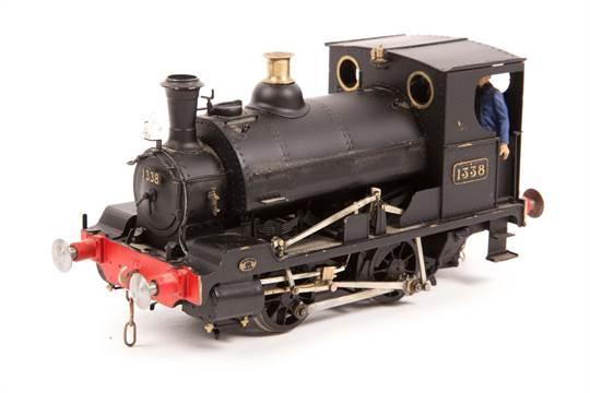 An Agenoria brass kit built O gauge GWR/Cardiff Railway No 5