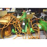 6 x assorted Florabest etc. electric chainsaws - Second-hand (GS20)