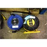 2 x 13 amp cable reel, 1 x 50m and 1 x 40m - Second-hand (GS14)