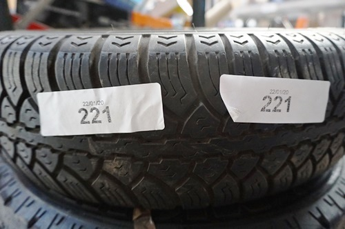 Lot 221 - Nokia 175 70 15 tyre 5mm tread - Second-hand (GS5F)