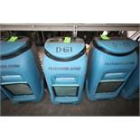 Dri-Eaz Drizair LGR2000 Low Grain Refrigerant Dehumidifiers, Model F232, S/N 07837 & S/N 21407 (Unit