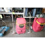 Flood King PFR Portable Water Extractor, S/N PS91019 with Wand