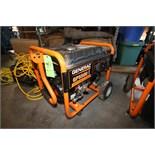 Generac GP5500 Portable Gas Power Generator Set, Model 0059396, S/N 7263957A, Running Watts 5500,