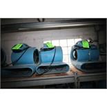 Dri-Eaz Sahara TurboDryer Air Movers (Unit #138 & (2) Unit #'s N/A)