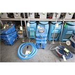 Priority Mfg. Samurai Extractor with (2) Wands and Hoses (Unit P-3 & Unit # N/A)