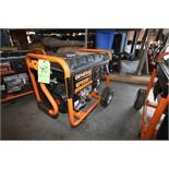 Generac GP5500 Portable Gas Power Generator Set, Model 0059396, S/N 7263953A, Running Watts 5500,