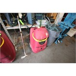Flood King PFR Portable Water Extractor, S/N PS91087 with Wand