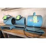 Dri-Eaz Sahara and Harloff TurboDryer Air Movers (Unit #131, #132 & #133)