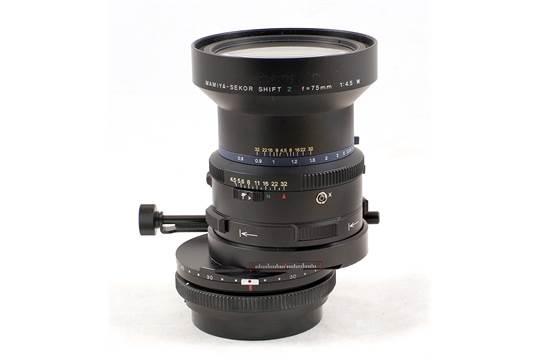 Mamiya RZ67 Shift Lens  Mamiya-Sekor Shift Z 75mm f4,5 W