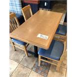 """(6) Tables double bases 48"""" x 26"""""""