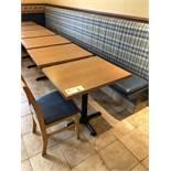 "(6) Tables Bistro 30"" x 24"""