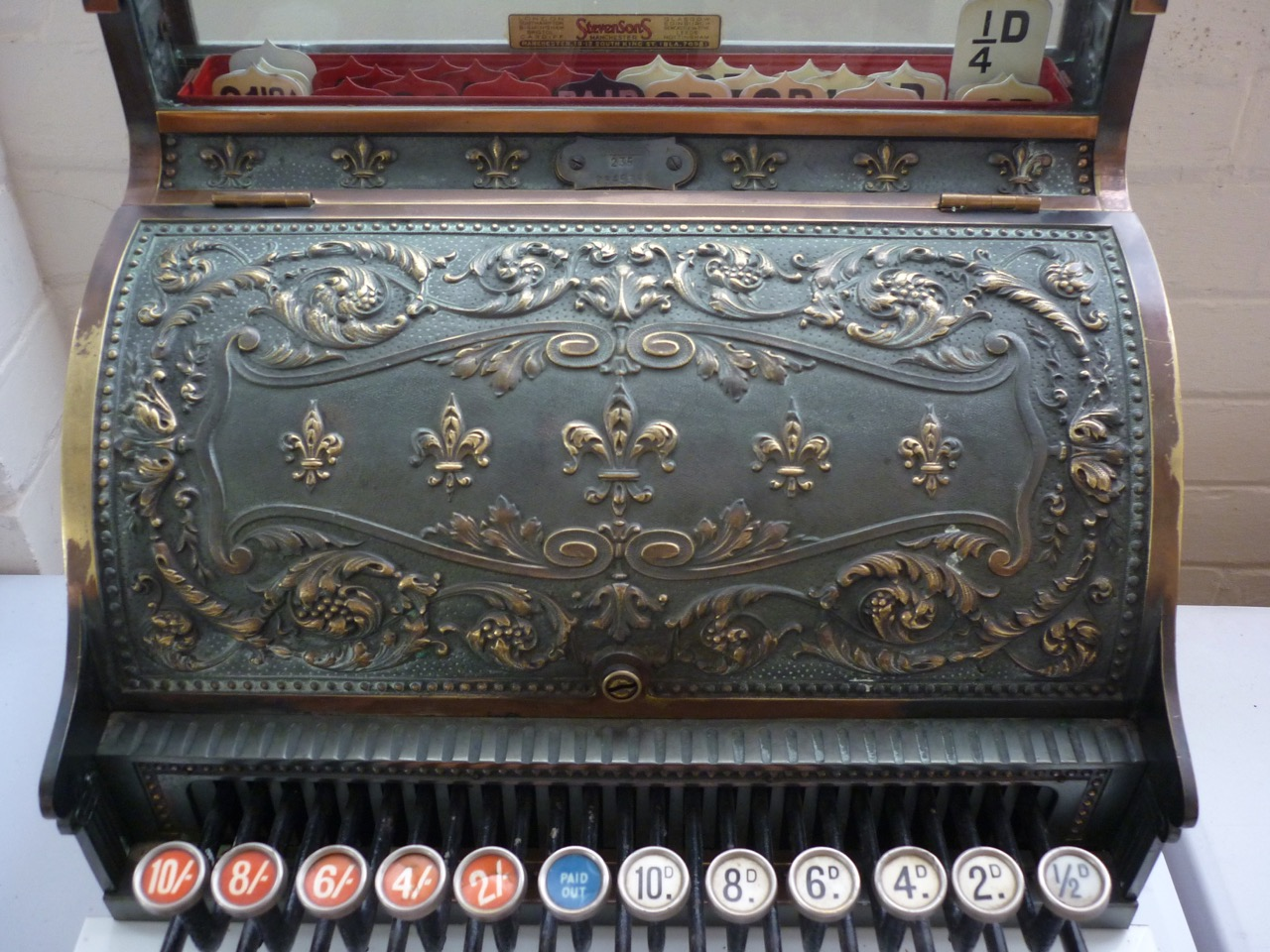 Lot 1 - A late 19th / early 20th Century National cash register