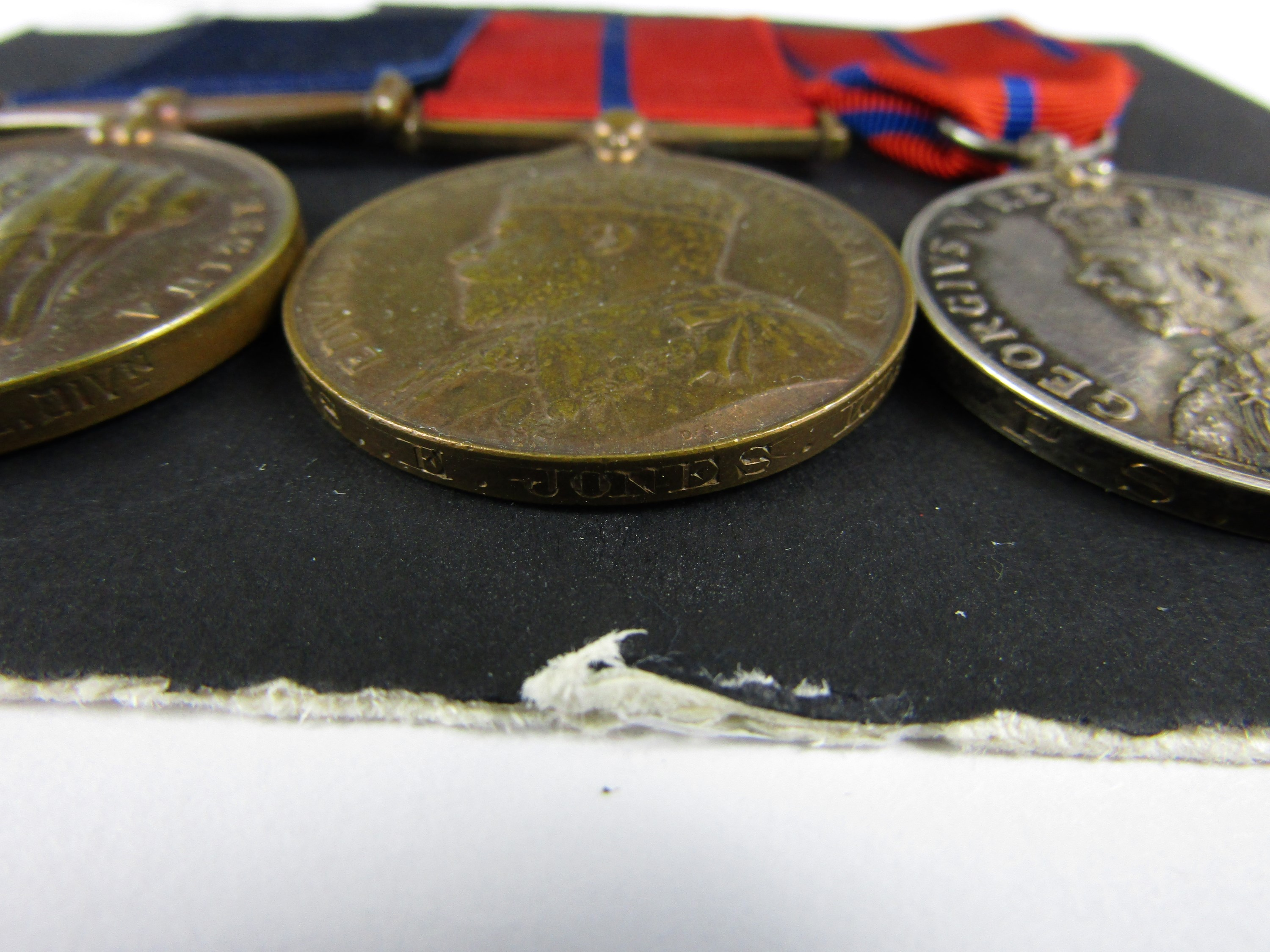 Lot 45 - A Constabulary medal group comprising Metropolitan Police 1897 Jubilee medal, 1902 and 1911