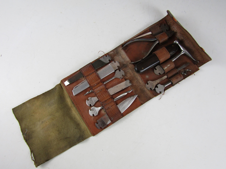 Lot 28 - An early 20th Century German Bonsa combination tool set