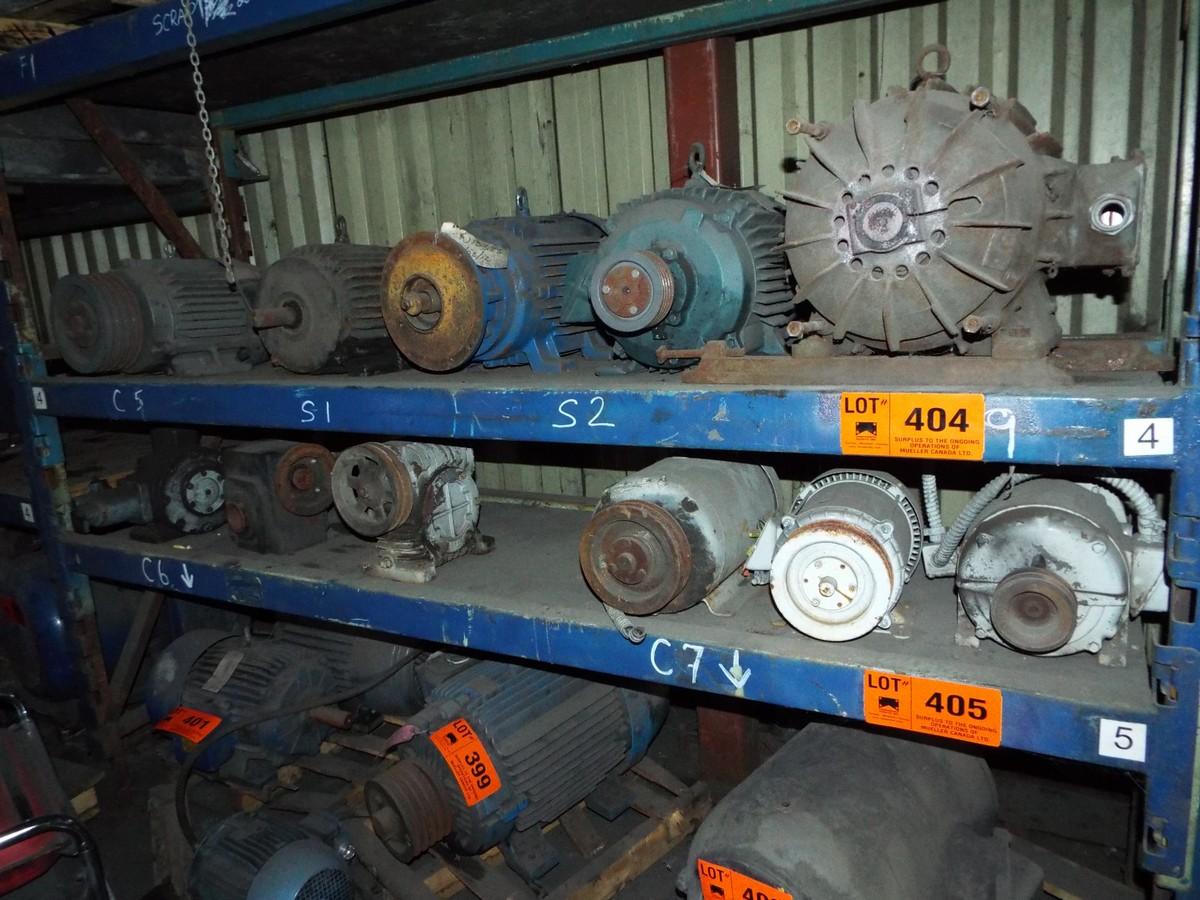 Lot spare electric motors for Abc electric motor repair