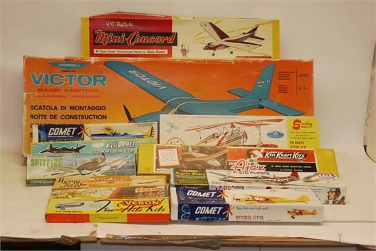 Aviomodelli, Keil Kraft, Comet, Veron and Sterling Aircraft models