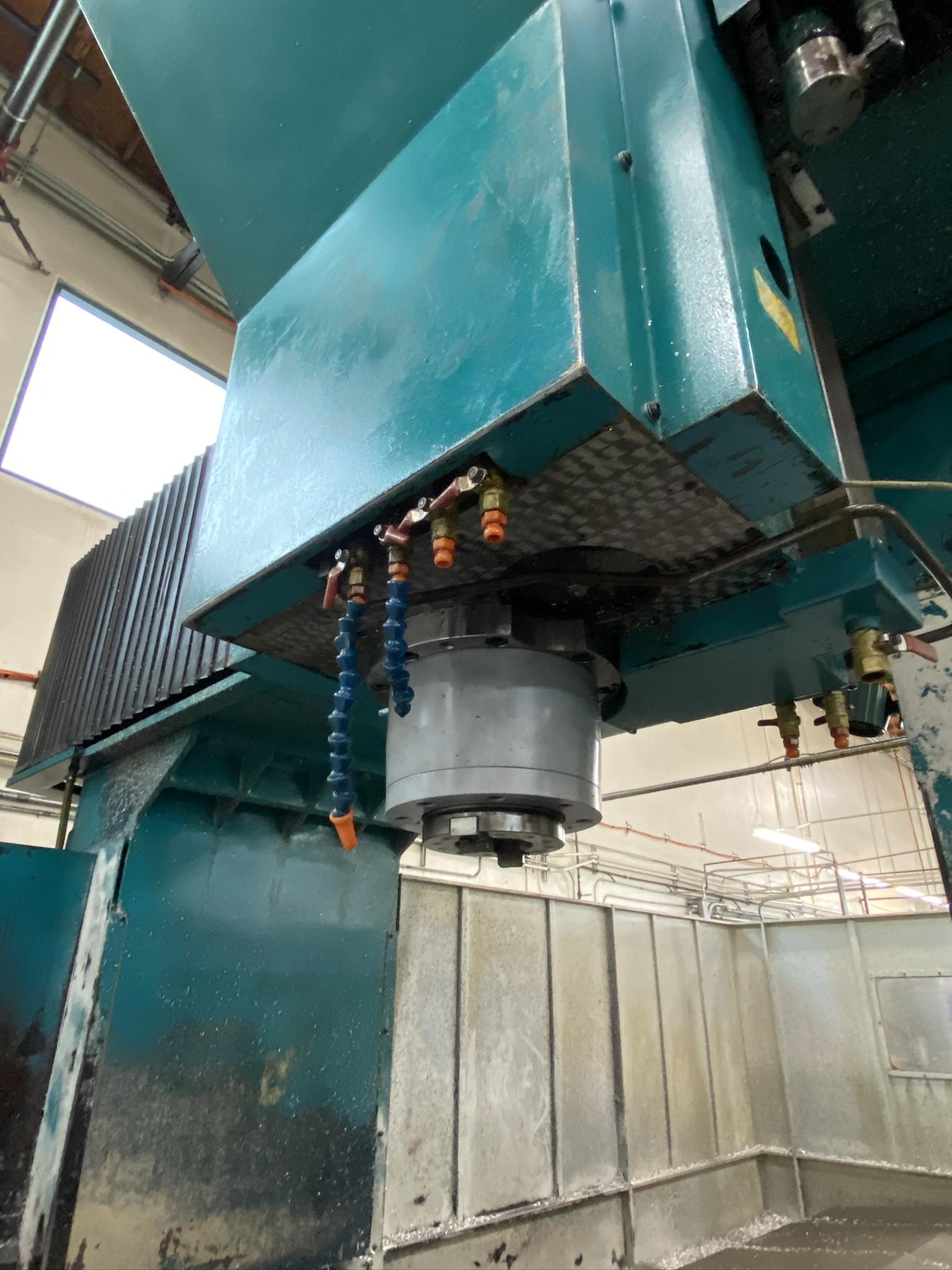 2005 SIGMA CNC DOUBLE COLUMN MACHINING CENTER, MODEL SDV-3219, FANUC 18IMB CNC CONTROL - Image 7 of 31