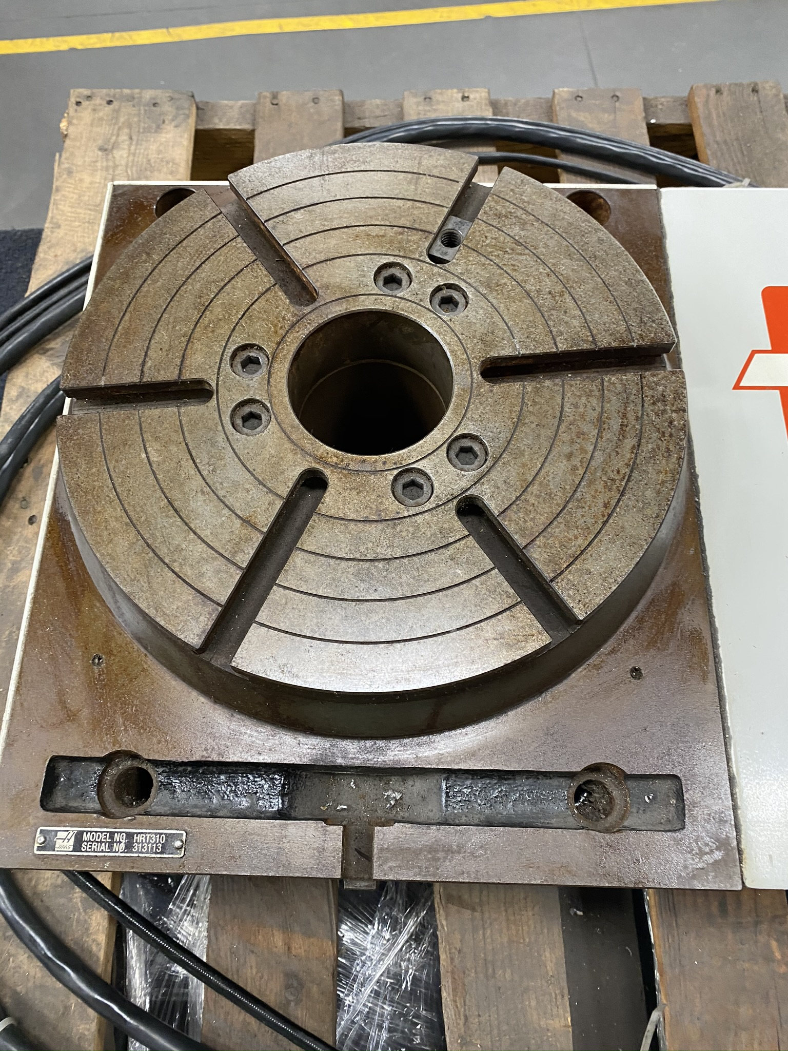 """HAAS HRT 310 ROTARY TABLE, 12"""" ROTARY TABLE, S/N 313113 - Image 2 of 9"""