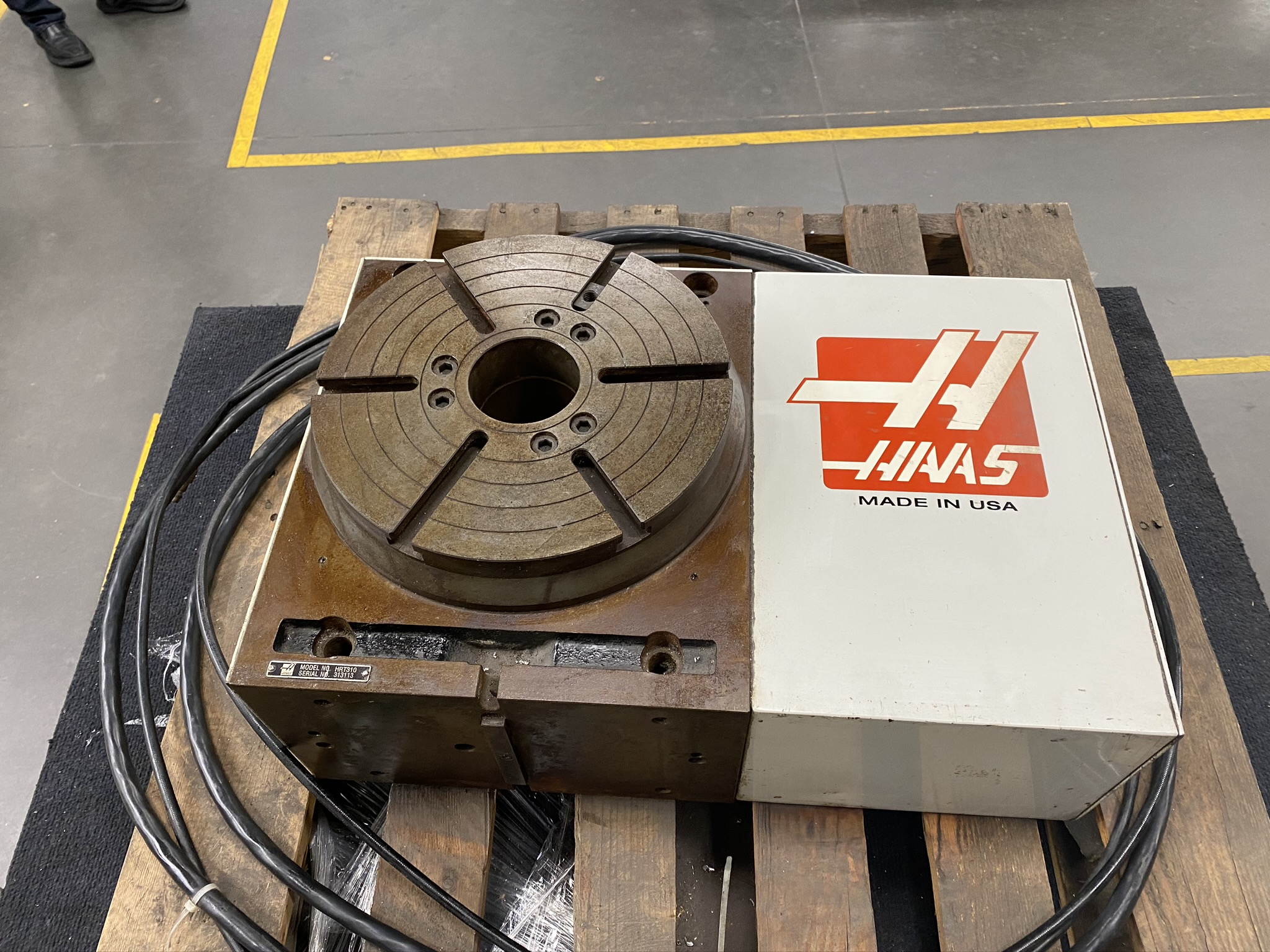 """HAAS HRT 310 ROTARY TABLE, 12"""" ROTARY TABLE, S/N 313113 - Image 3 of 9"""