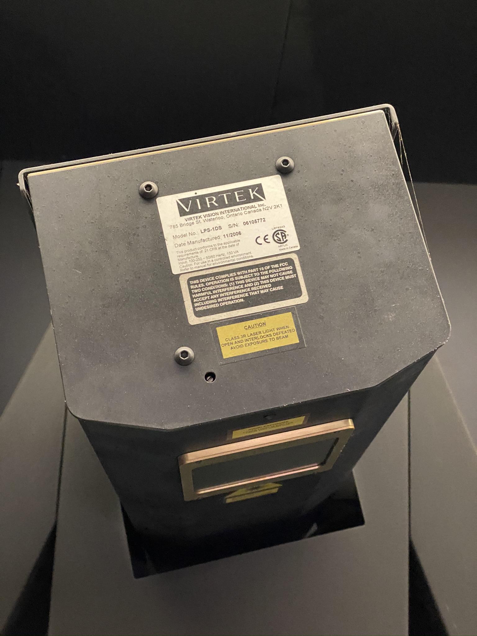 2006 VERTEK LPS-10S SCANNER, S/N 06105772 (NOTE: NEEDS NEW LASER HEAD, AS THE CURRENT ONE HAS LOST - Image 6 of 7